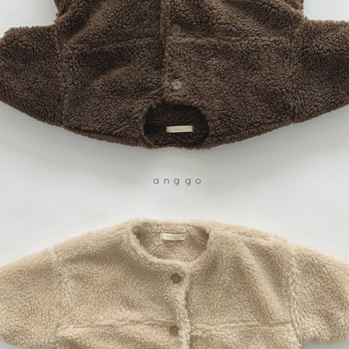 ANGGO - Korean Children Fashion - #Kfashion4kids - Merci Long Jacket - 5