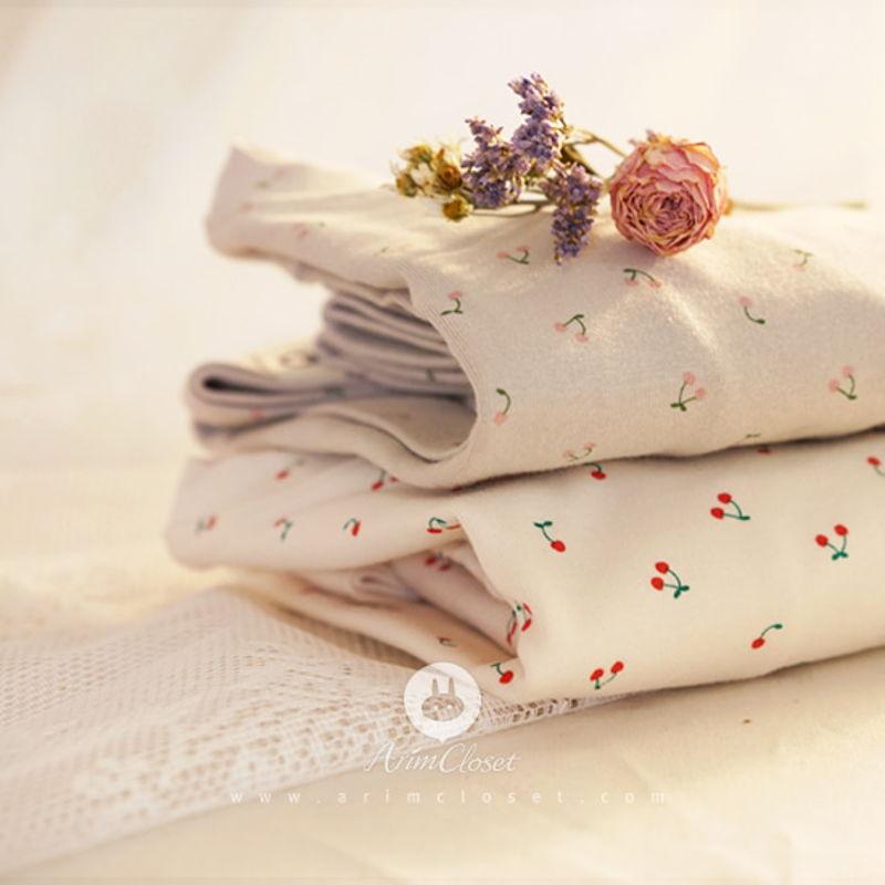 ARIM CLOSET - BRAND - Korean Children Fashion - #Kfashion4kids - Cherry Cotton Homewear