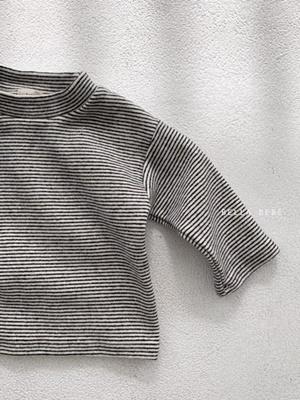 BELLA BAMBINA - BRAND - Korean Children Fashion - #Kfashion4kids - Bebe Stripe Tee