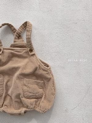 BELLA BAMBINA - BRAND - Korean Children Fashion - #Kfashion4kids - Corduroy Bebe Bodysuit
