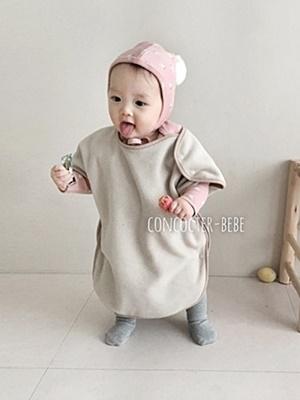 CONCOCTER - BRAND - Korean Children Fashion - #Kfashion4kids - Bebe Pogni Sleeping Vest