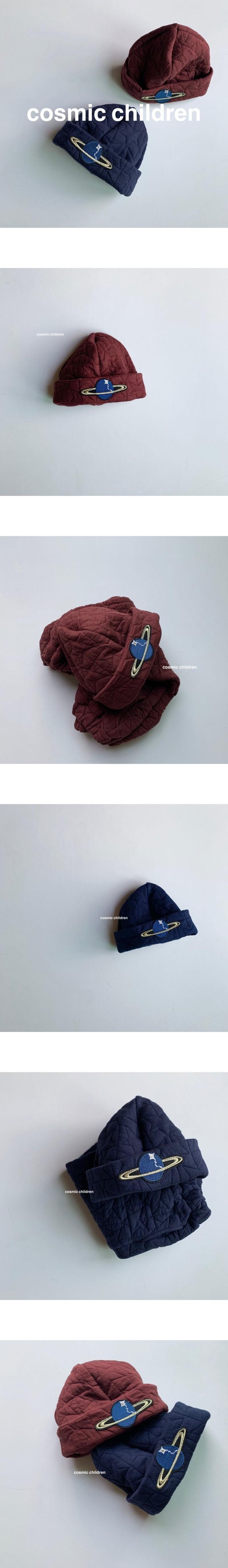 COSMIC CHILDREN - Korean Children Fashion - #Kfashion4kids - Star Quilting Hat