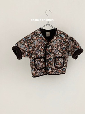 COSMIC CHILDREN - BRAND - Korean Children Fashion - #Kfashion4kids - Flower Bonding Jumper