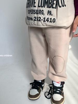 COSMIC CHILDREN - BRAND - Korean Children Fashion - #Kfashion4kids - Fleece Mongle Pants