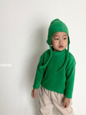 COSMIC CHILDREN - BRAND - Korean Children Fashion - #Kfashion4kids - Fleece Turtleneck Tee