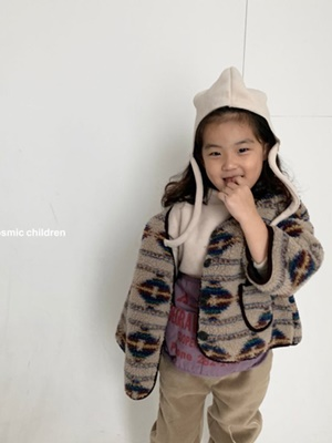 COSMIC CHILDREN - BRAND - Korean Children Fashion - #Kfashion4kids - Bear Dumble Jumper with Mom