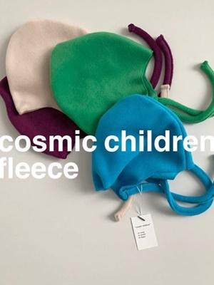 COSMIC CHILDREN - BRAND - Korean Children Fashion - #Kfashion4kids - Fleece Color Hat