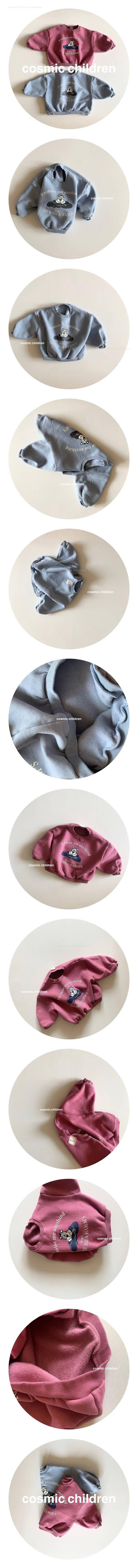 COSMIC CHILDREN - Korean Children Fashion - #Kfashion4kids - Bear MTM