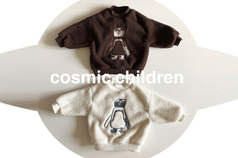 COSMIC CHILDREN - BRAND - Korean Children Fashion - #Kfashion4kids - Penguin Dumble MTM