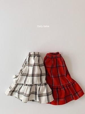 DAILY BEBE - BRAND - Korean Children Fashion - #Kfashion4kids - Merry Skirt