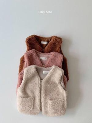 DAILY BEBE - BRAND - Korean Children Fashion - #Kfashion4kids - Dumble Vest