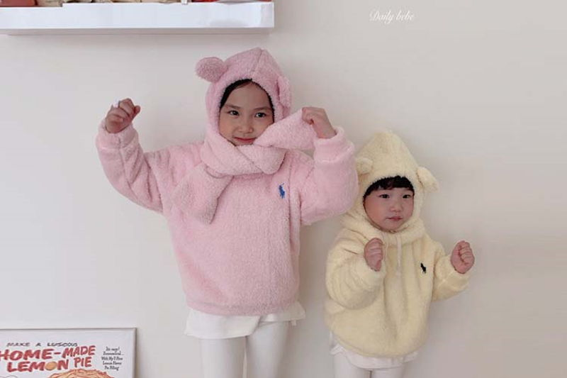 DAILY BEBE - BRAND - Korean Children Fashion - #Kfashion4kids - Muffler MTM