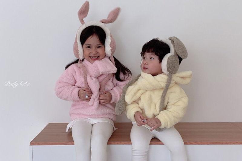 DAILY BEBE - BRAND - Korean Children Fashion - #Kfashion4kids - Rabbit Earmuff