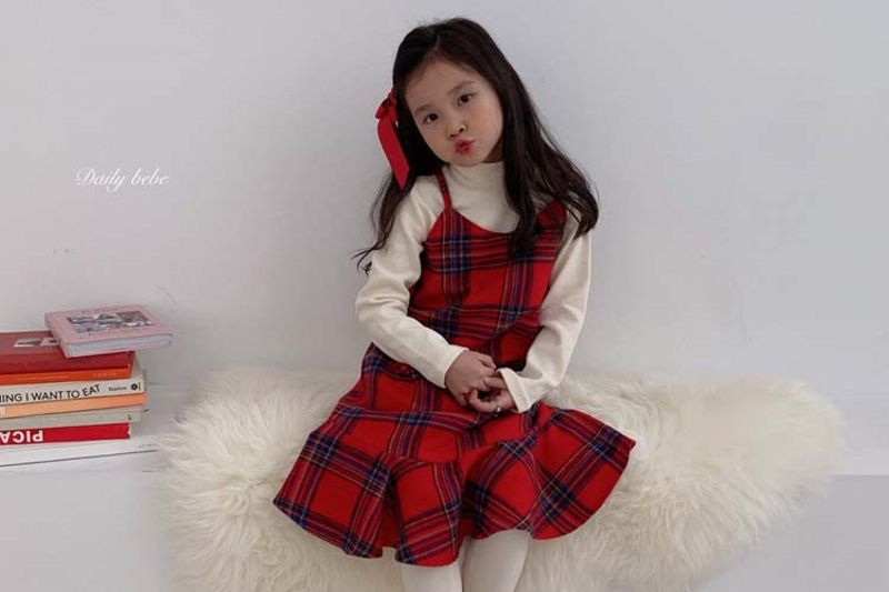 DAILY BEBE - BRAND - Korean Children Fashion - #Kfashion4kids - Merry One-piece