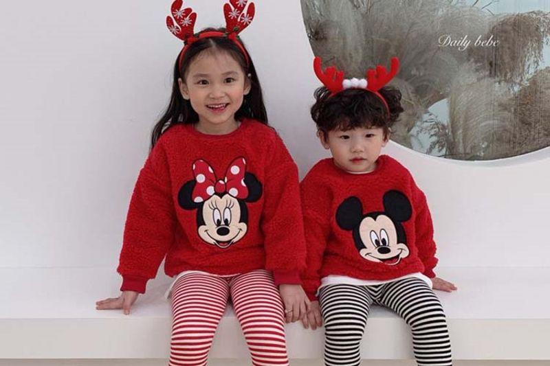 DAILY BEBE - BRAND - Korean Children Fashion - #Kfashion4kids - Dumble Mickey Mini MTM
