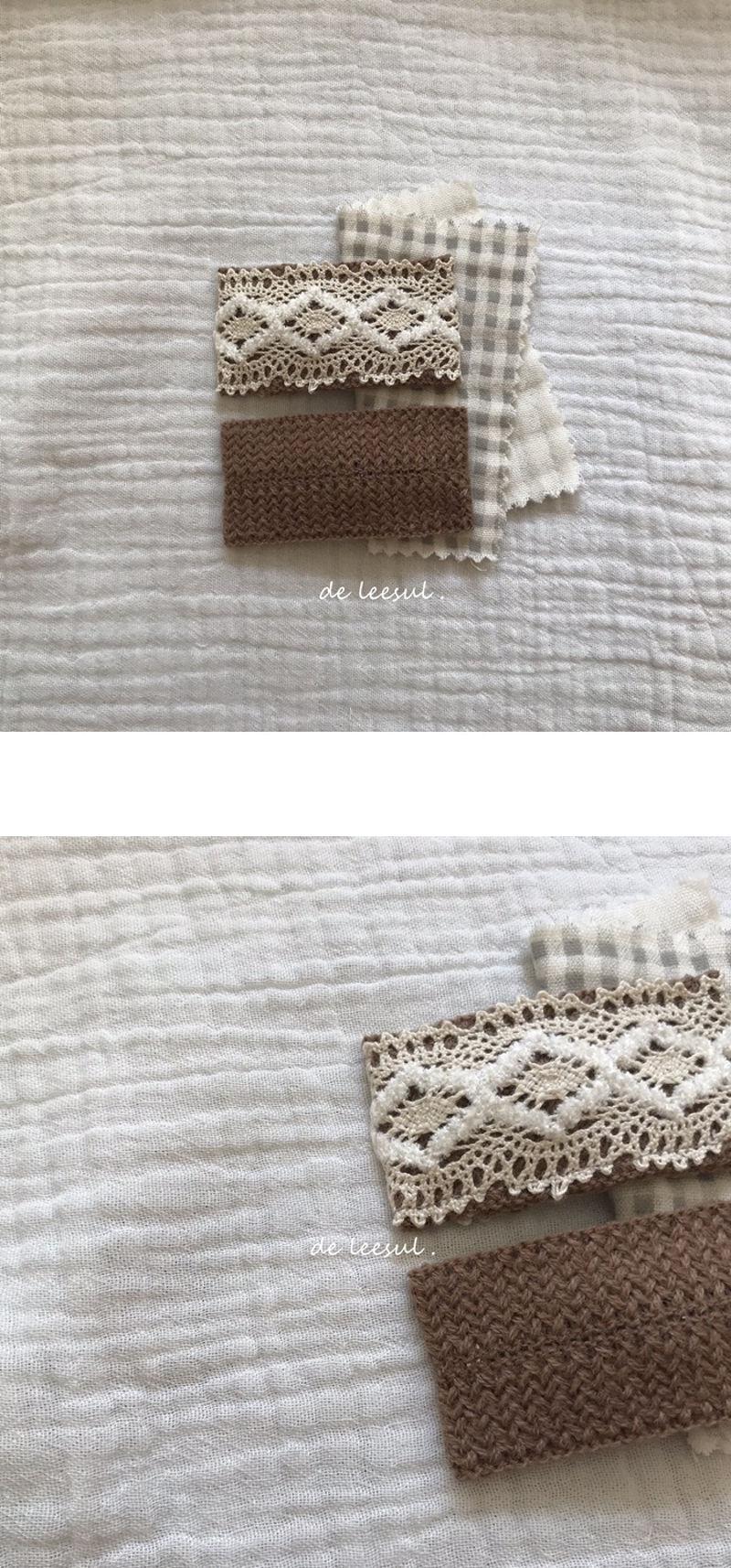 DE LEESUL - Korean Children Fashion - #Kfashion4kids - Coco Lace Hairpin [set of 2]