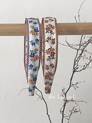 DE LEESUL - BRAND - Korean Children Fashion - #Kfashion4kids - Embroidery Hairband