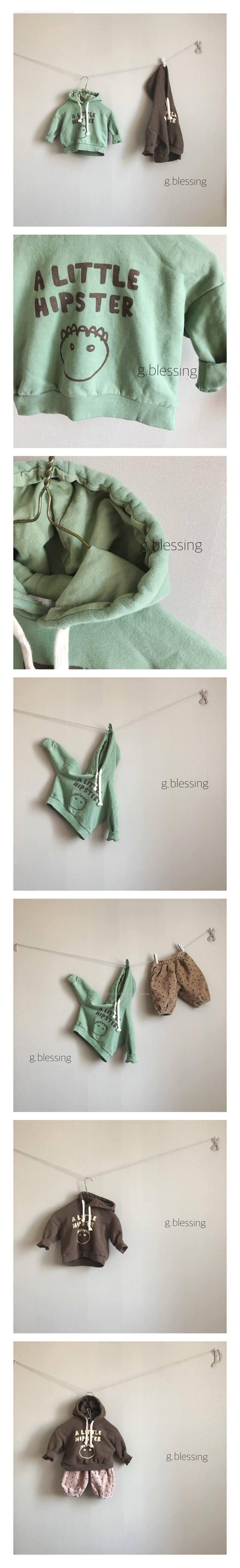 G BLESSING - Korean Children Fashion - #Kfashion4kids - Hipster Hood MTM
