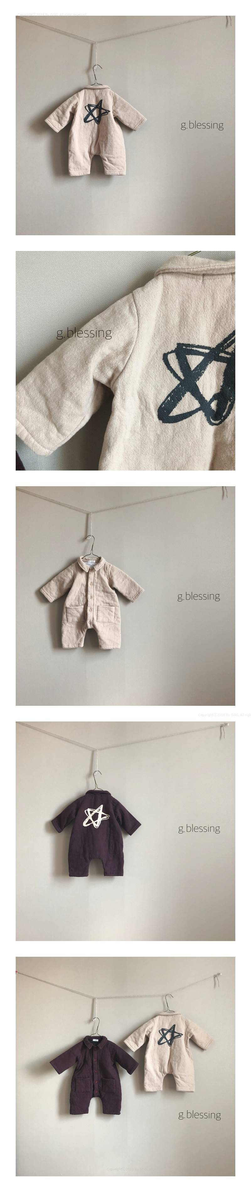 G BLESSING - Korean Children Fashion - #Kfashion4kids - Satr Bodysuit