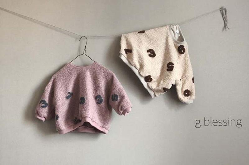 G BLESSING - BRAND - Korean Children Fashion - #Kfashion4kids - Number Dumble MTM