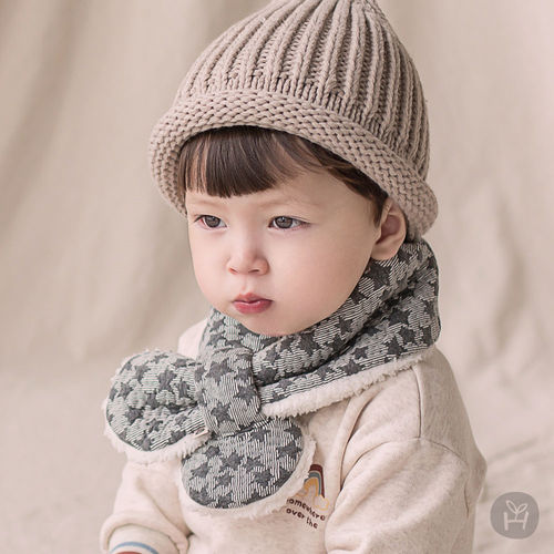 HAPPY PRINCE - BRAND - Korean Children Fashion - #Kfashion4kids - Lily Star Snow Neckie Muffler