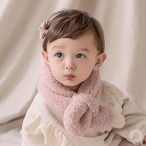 HAPPY PRINCE - BRAND - Korean Children Fashion - #Kfashion4kids - Aubrey Snow Neckie Muffler