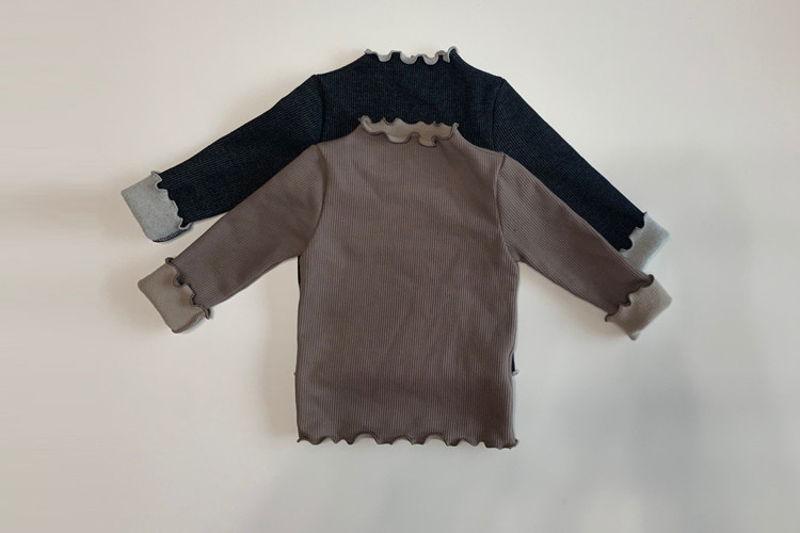LA CAMEL - BRAND - Korean Children Fashion - #Kfashion4kids - Jullie Turtleneck Tee
