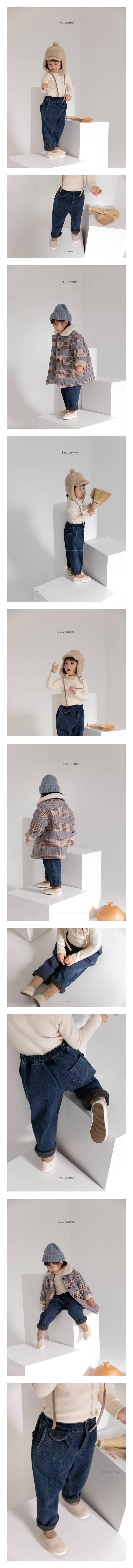 LA CAMEL - Korean Children Fashion - #Kfashion4kids - Roy Denim Pants
