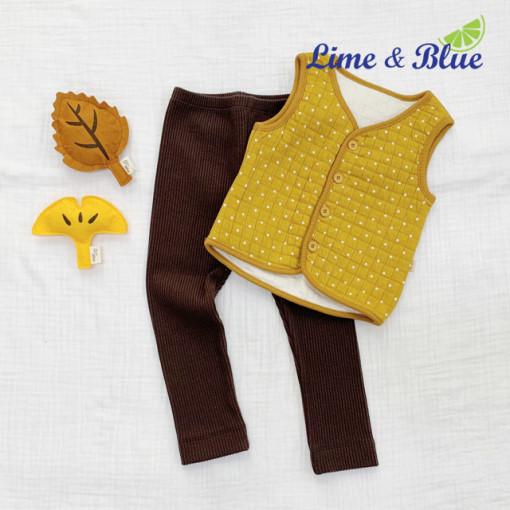 LIME & BLUE - BRAND - Korean Children Fashion - #Kfashion4kids - Dot Good Night Vest