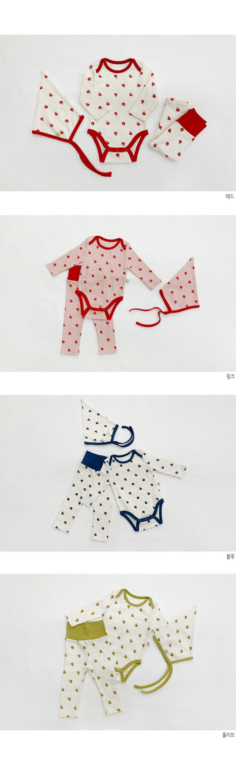 LIME & BLUE - Korean Children Fashion - #Kfashion4kids - Apple Hat - 2