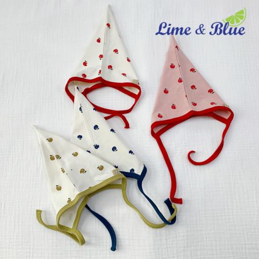 LIME & BLUE - BRAND - Korean Children Fashion - #Kfashion4kids - Apple Hat