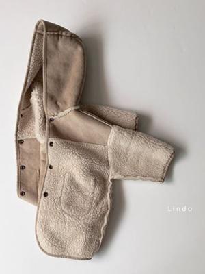 LINDO - BRAND - Korean Children Fashion - #Kfashion4kids - Reversible Hood Mustang Jacket