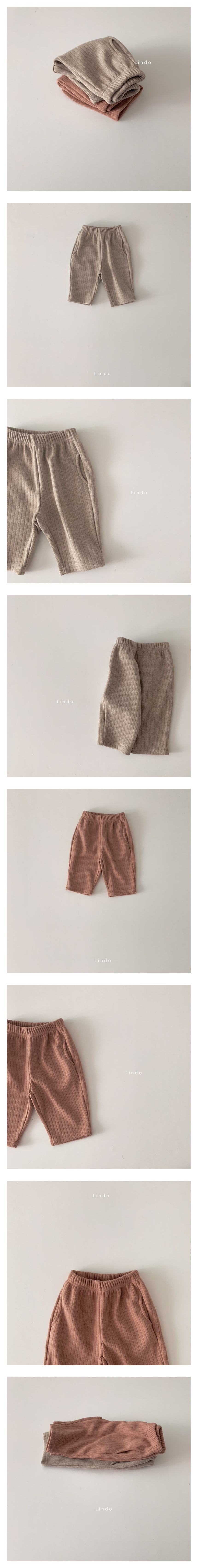 LINDO - Korean Children Fashion - #Kfashion4kids - Knit Pants