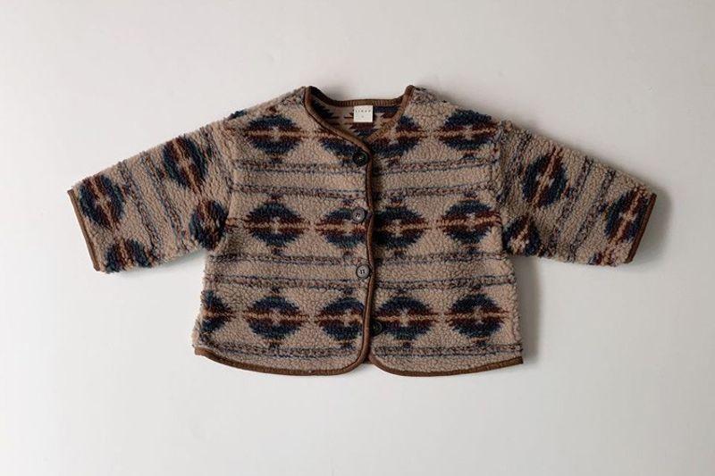 LINDO - BRAND - Korean Children Fashion - #Kfashion4kids - Indian Cardigan