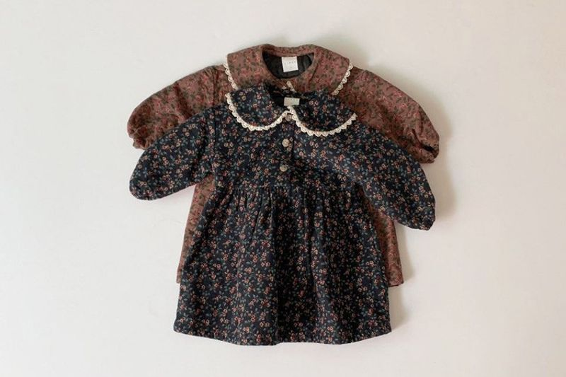 LINDO - BRAND - Korean Children Fashion - #Kfashion4kids - Camellia One-piece