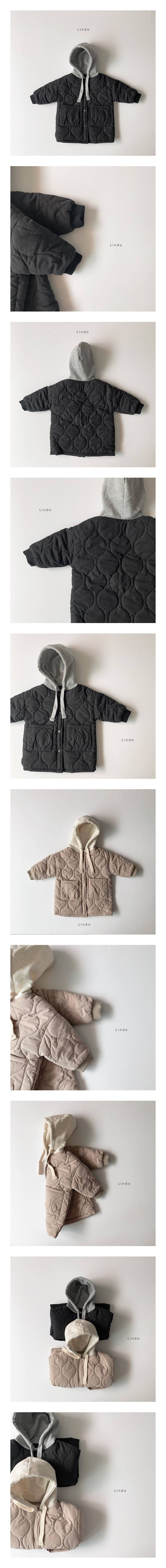 LINDO - Korean Children Fashion - #Kfashion4kids - Hood Padding Jacket