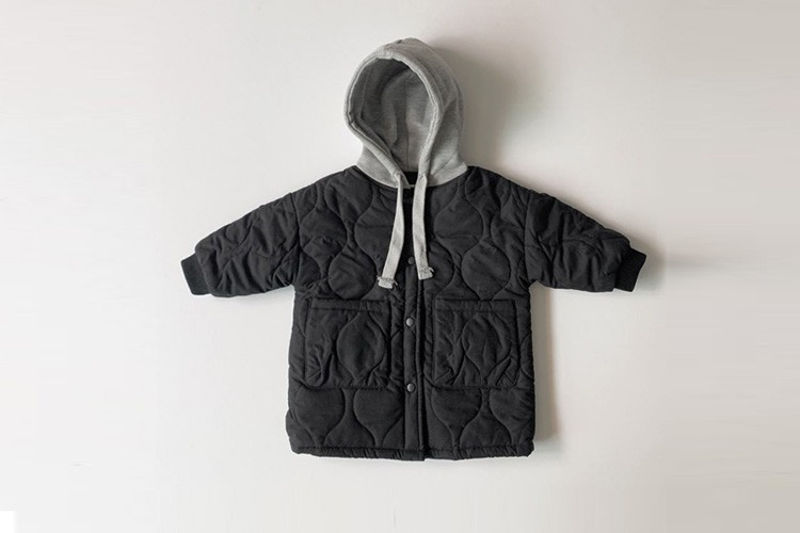 LINDO - BRAND - Korean Children Fashion - #Kfashion4kids - Hood Padding Jacket