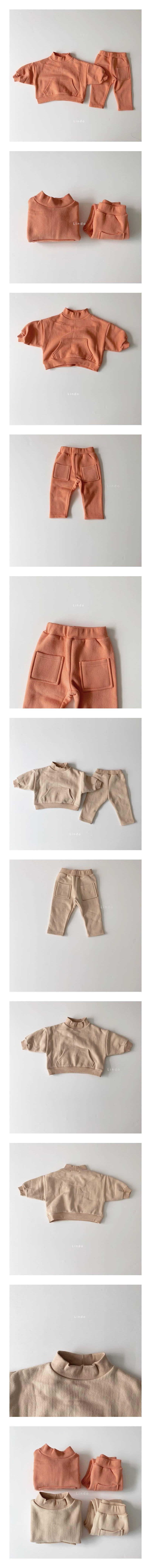 LINDO - Korean Children Fashion - #Kfashion4kids - Little Top Bottom Set