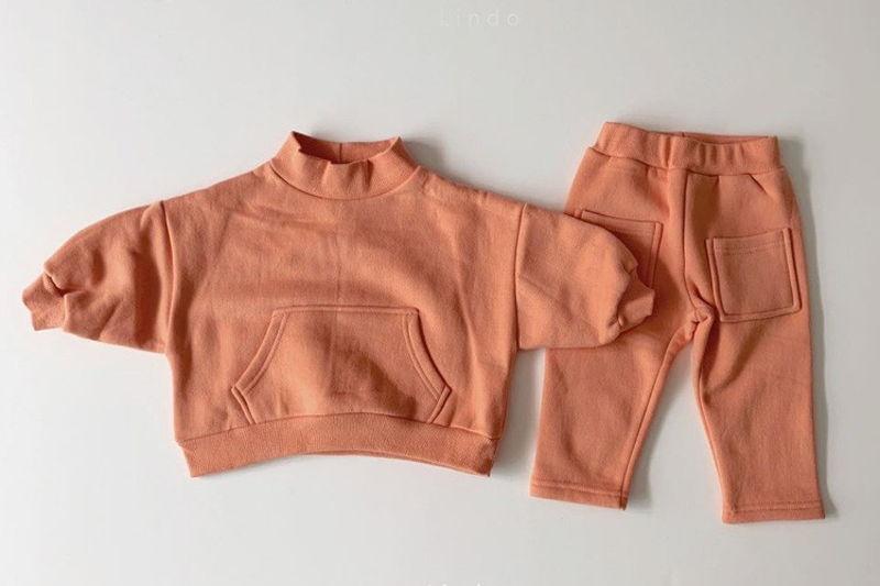 LINDO - BRAND - Korean Children Fashion - #Kfashion4kids - Little Top Bottom Set