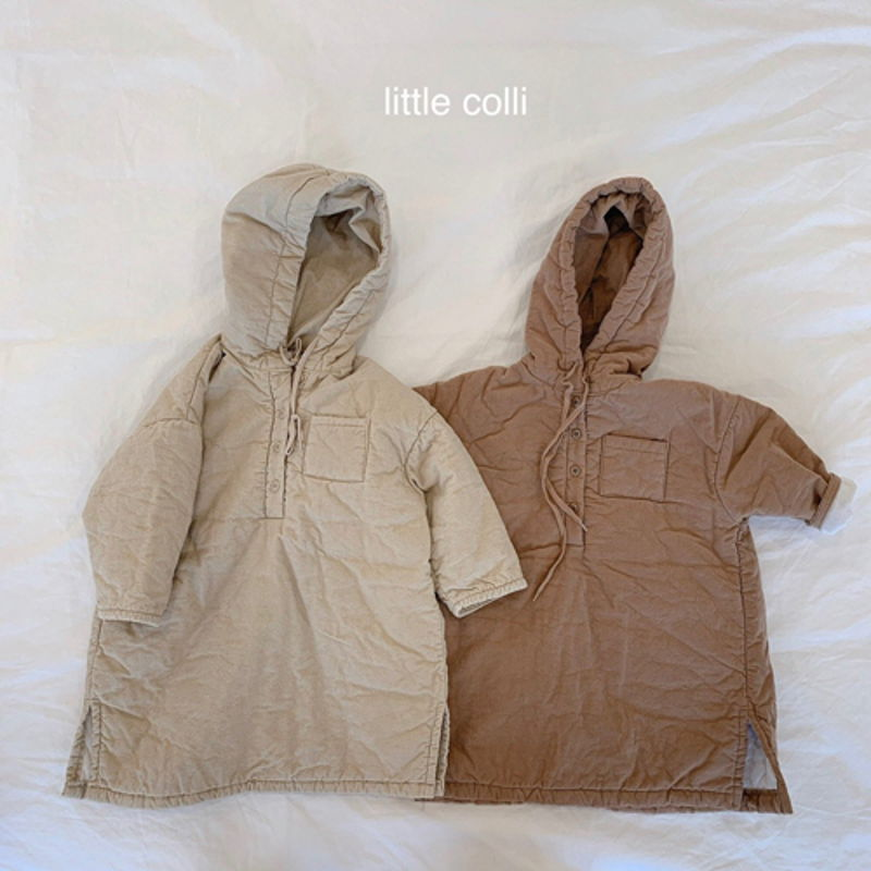 LITTLE COLLI - Korean Children Fashion - #Kfashion4kids - Long Padding One-piece
