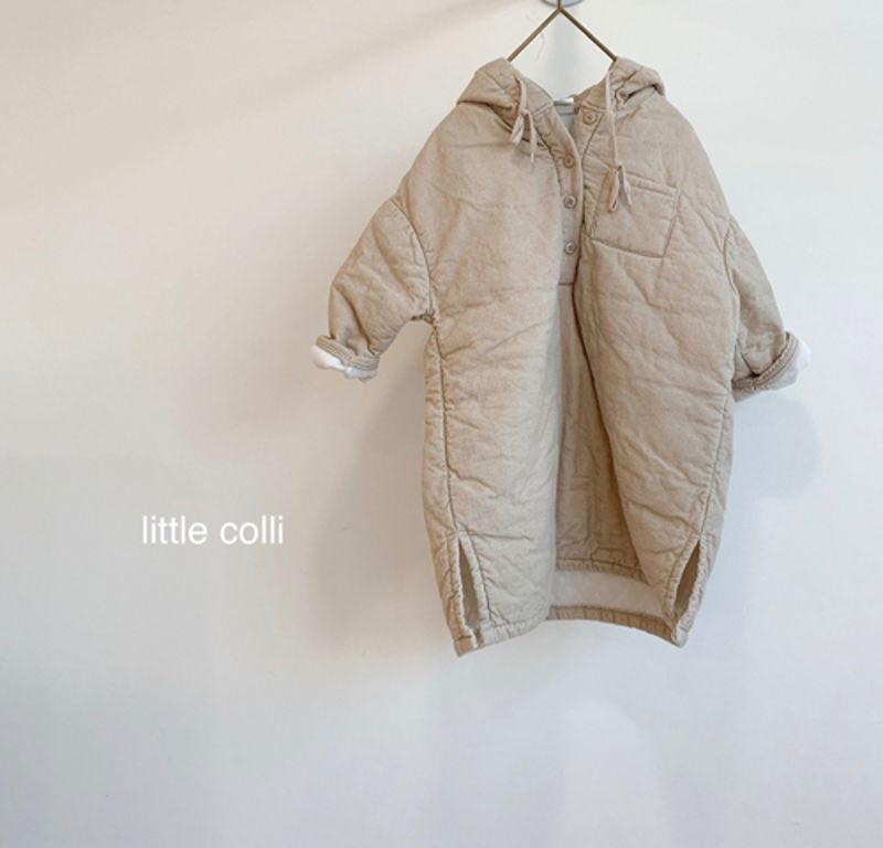LITTLE COLLI - Korean Children Fashion - #Kfashion4kids - Long Padding One-piece - 10