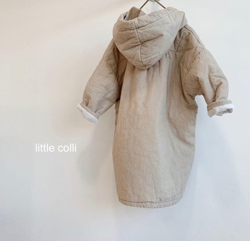 LITTLE COLLI - Korean Children Fashion - #Kfashion4kids - Long Padding One-piece - 11