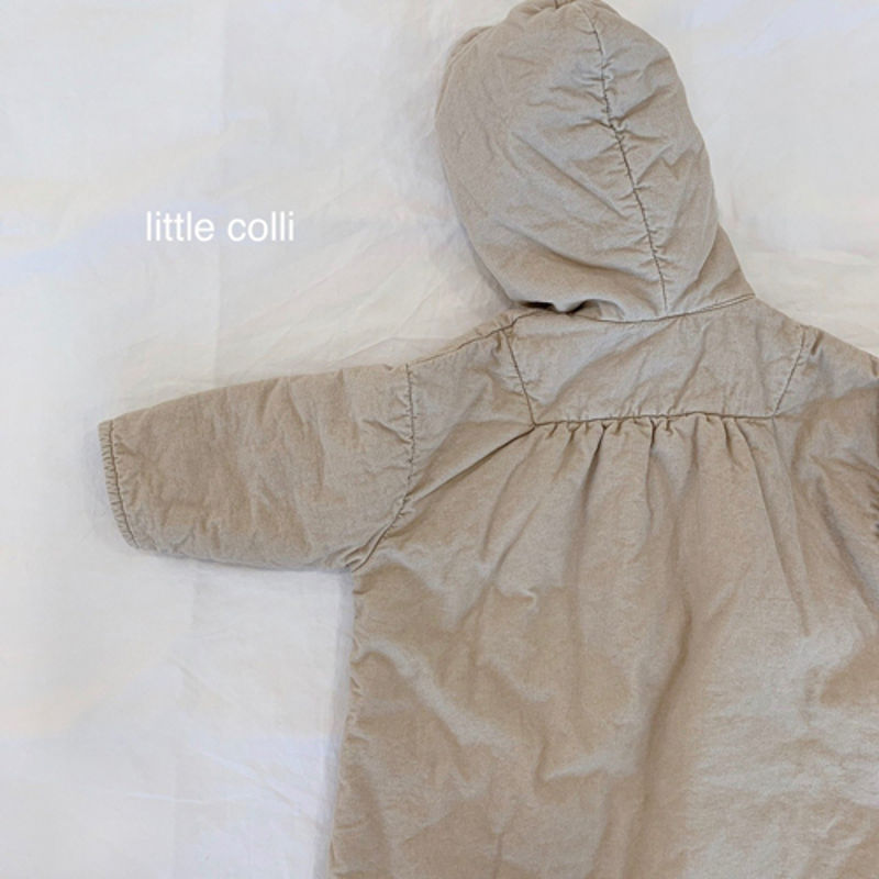 LITTLE COLLI - Korean Children Fashion - #Kfashion4kids - Long Padding One-piece - 12