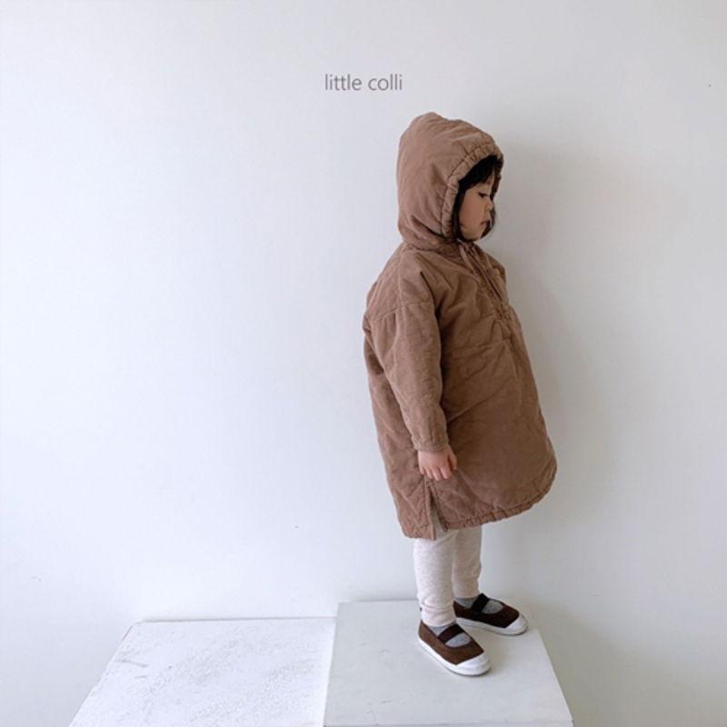 LITTLE COLLI - Korean Children Fashion - #Kfashion4kids - Long Padding One-piece - 3