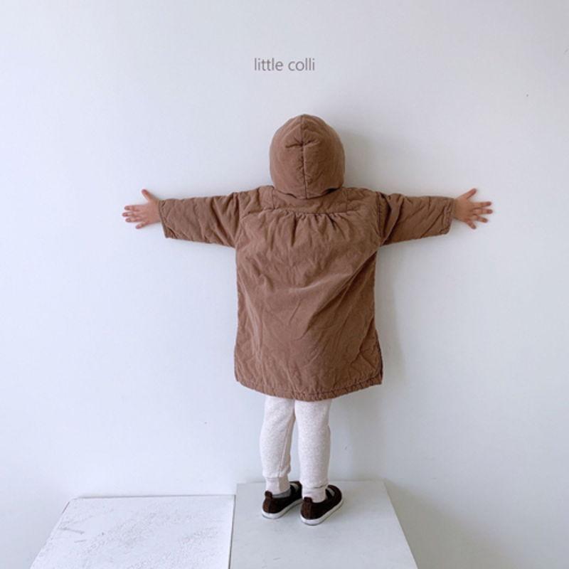 LITTLE COLLI - Korean Children Fashion - #Kfashion4kids - Long Padding One-piece - 4