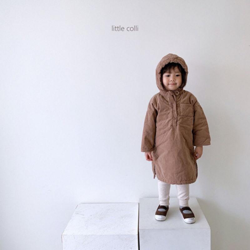 LITTLE COLLI - Korean Children Fashion - #Kfashion4kids - Long Padding One-piece - 5