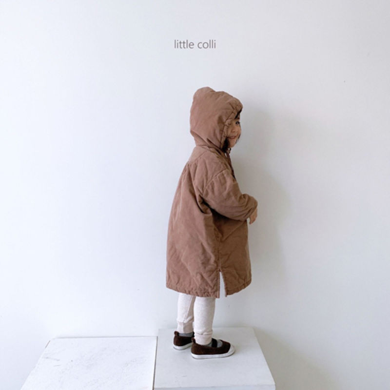 LITTLE COLLI - Korean Children Fashion - #Kfashion4kids - Long Padding One-piece - 6