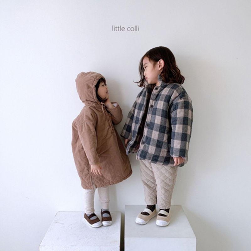 LITTLE COLLI - Korean Children Fashion - #Kfashion4kids - Long Padding One-piece - 7