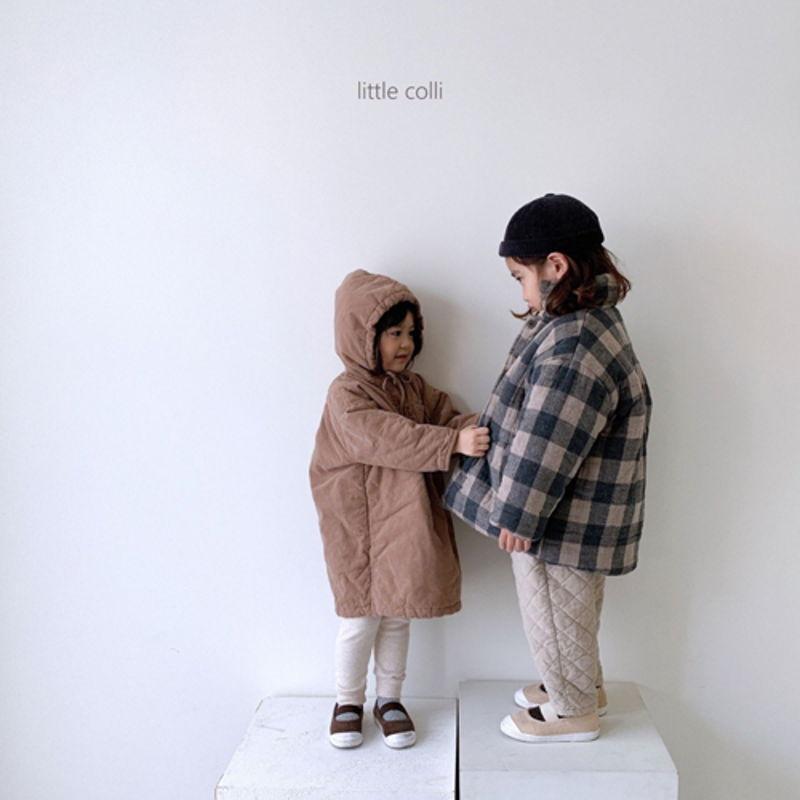 LITTLE COLLI - Korean Children Fashion - #Kfashion4kids - Long Padding One-piece - 8