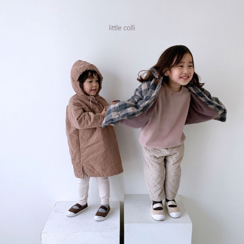 LITTLE COLLI - Korean Children Fashion - #Kfashion4kids - Long Padding One-piece - 9